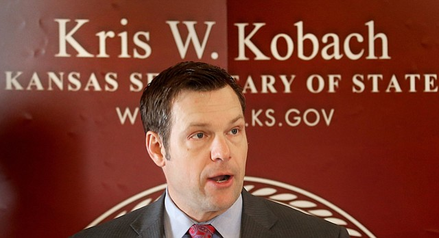 Image result for photos of Kris Kobach