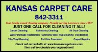 Just One Call For Cleaning It All! | Kansas Carpet Care ...