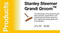 Grandi GroomTM | Stanley Steemer Carpet Cleaner | Lawrence, KS