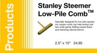 Low-Pile CombTM | Stanley Steemer Carpet Cleaner ...