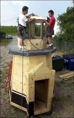 Woodwork Lighthouse Playhouse Plans PDF Plans