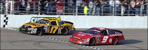 Image result for kahne kenseth finish 2004