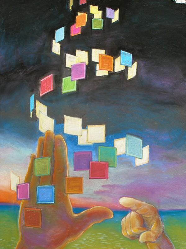 Deaf Visual Image Art By Chuck Baird Ljworld Com