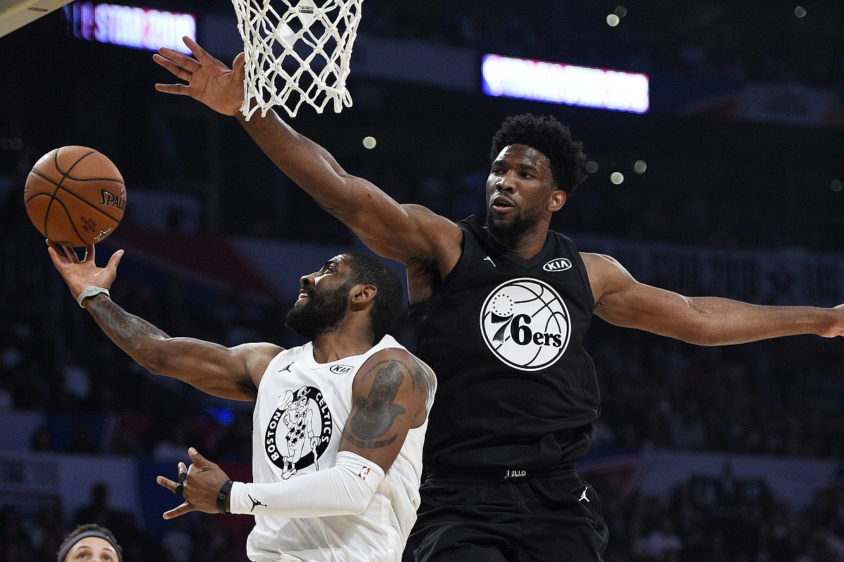 Joel Embiid Goes For 19 Points 8 Rebounds In Nba All Star