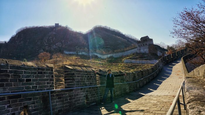 The Great Wall in Dandong
