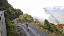 Biking Death Road La Paz Bolivia