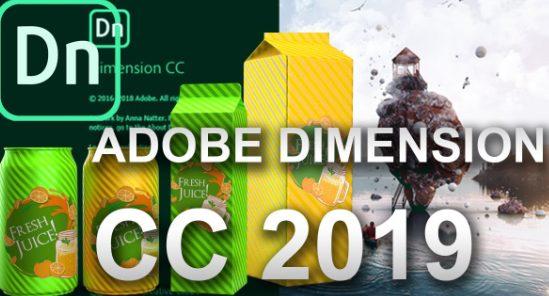 Adobe Dimension CC 2019 free download