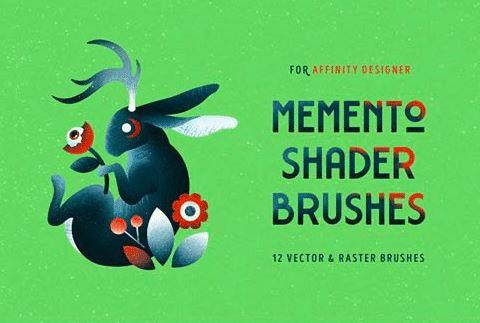 Memento Shader Brushes for Affinity Designer
