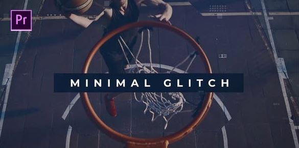 Videohive Minimal glitch Promo