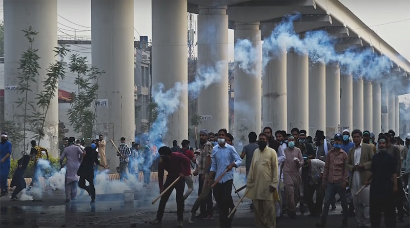 TLP Protest in Pakistan