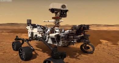 spacecraft on Mars