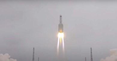 Chinese 5B rocket
