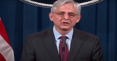 Merrick Garland react on federal executions