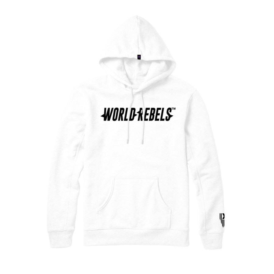 World Rebels White Promo Hoodie