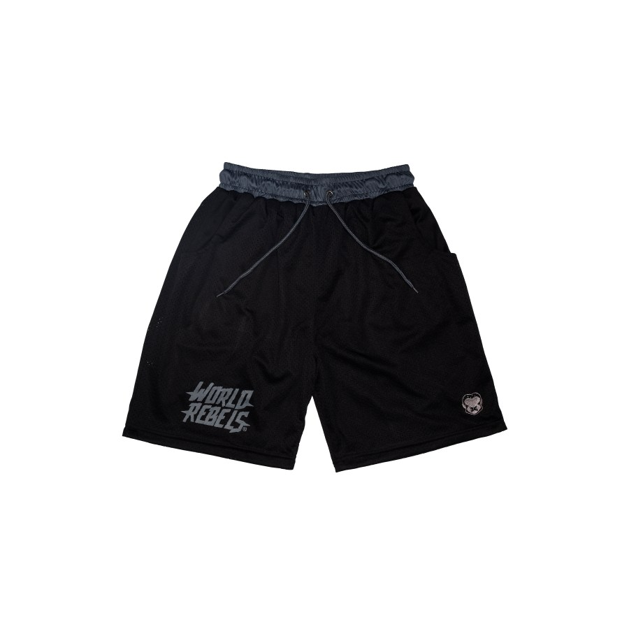 Retro Gym short gray / black