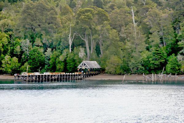 Boat Landing Huapi