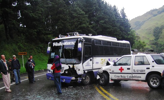 Colombian Accidente