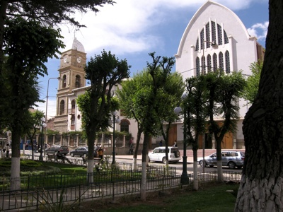 Downtown Oruro