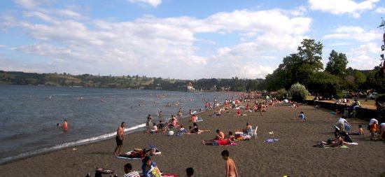 Frutillar Beach