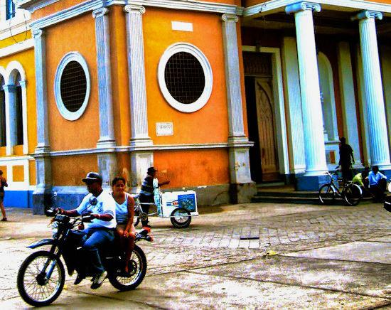 Granada Cathedral Biker