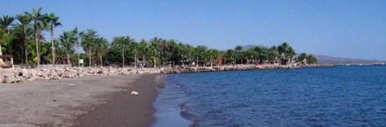 Loreto Beach - Along the Malecon