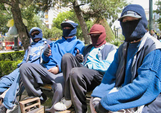 Ski Masks Of Lapaz