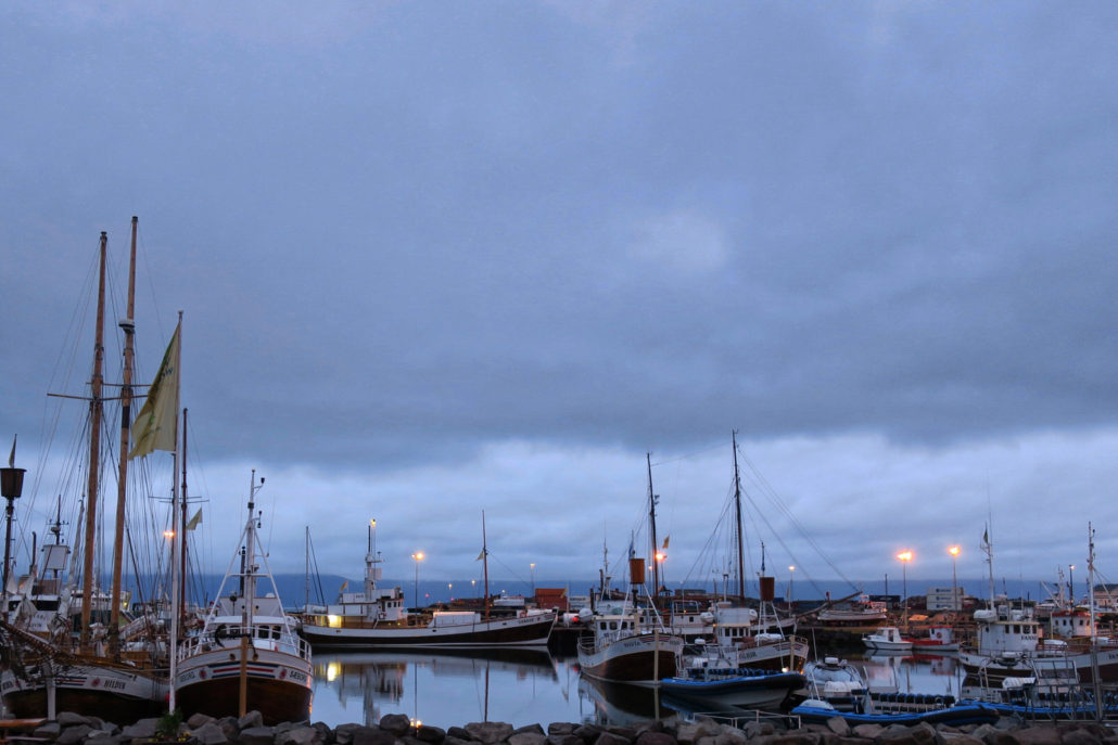 The small village of Husavik—prime Iceland spot for spotting whales and whale watching