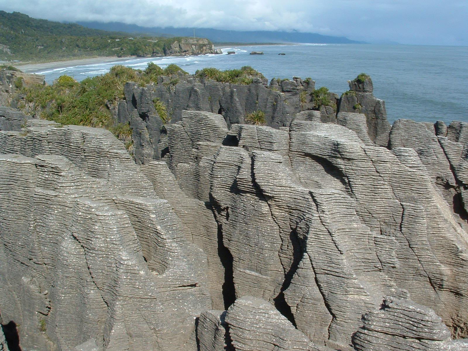 """Punakaiki """"Pancake Rocks,"""" South Island"""