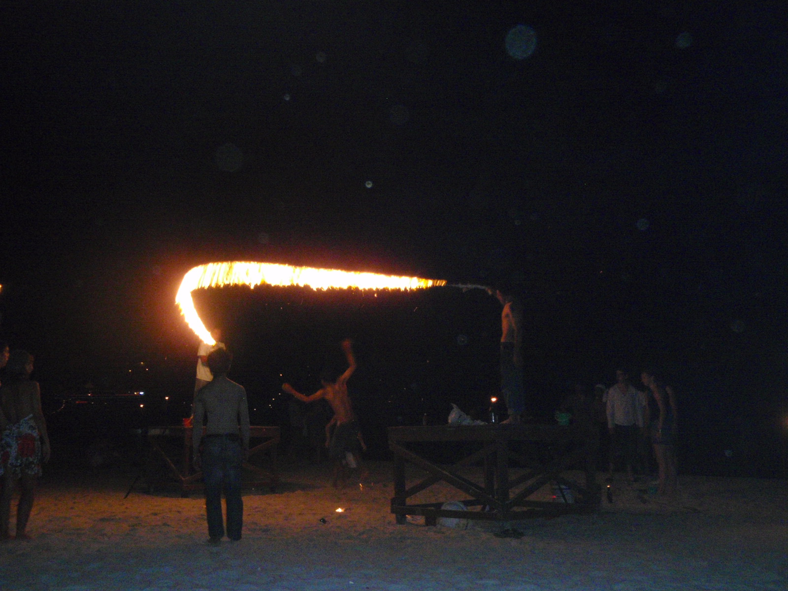 Fire Jump Rope!
