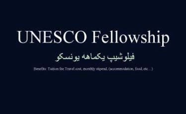 UNESCO fellowship India