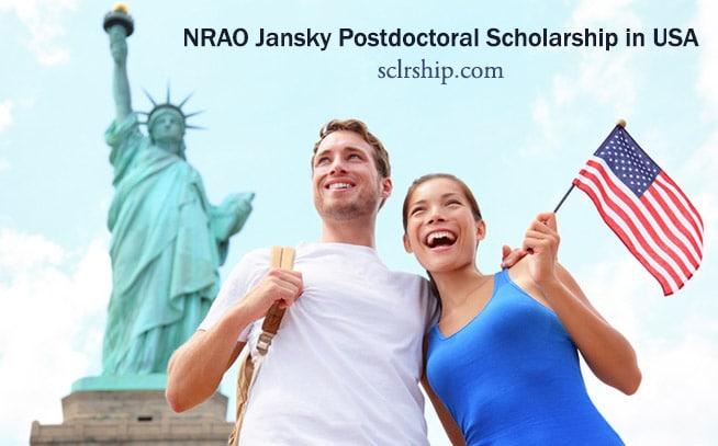NRAO Jansky Fellowship 2019-2020 for International students