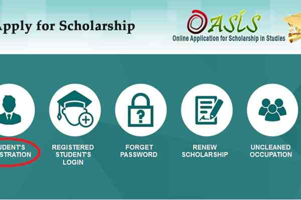 How to Apply for Oasis Scholarships 2019 on www.oasis.gov.in