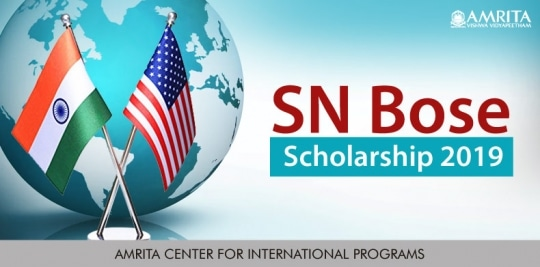 SN Bose Scholarships for Indian Students, 2021