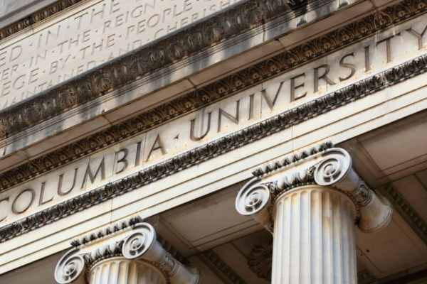 Columbia University graduate school acceptance rate in 2020