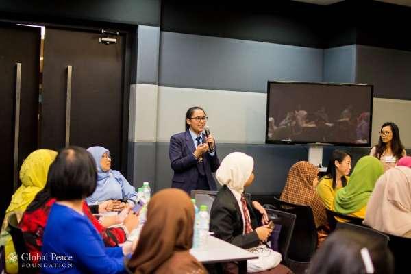 Global youth peace summit in Malaysia 2020