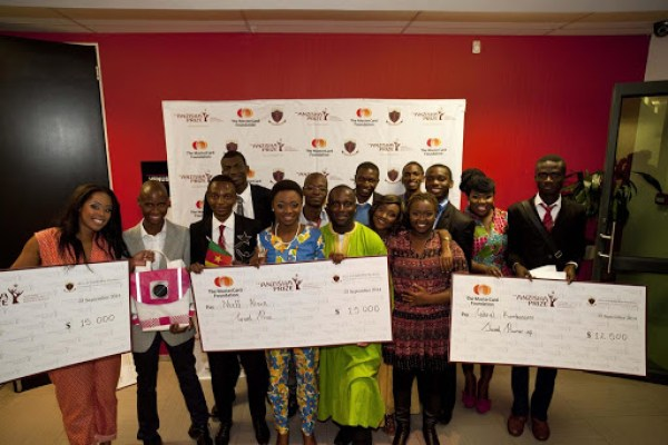 Anzisha Prize for Young African Entrepreneurs program in 2020