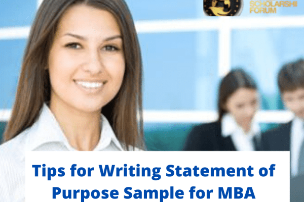 Tips for Writing Statement of Purpose Sample for MBA