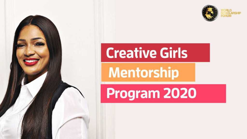 Creative Girls Mentorship Program 2020 For Young Female Creative Minds