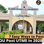 Ways Pass OOU Post UTME