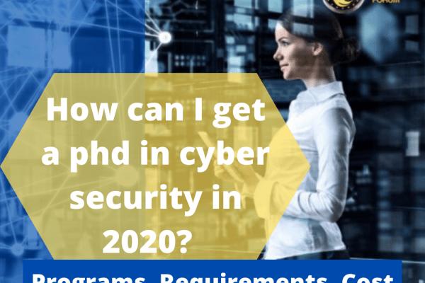 best phd in cyber security programs