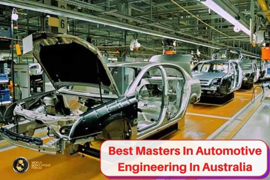Best Masters In Automotive Engineering In Australia | 2020 Rankings