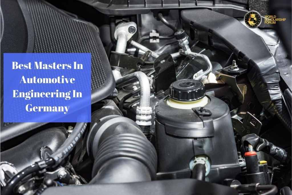 Best Masters In Automotive Engineering In Germany