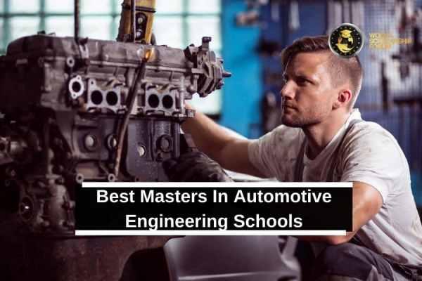 Best Masters In Automotive Engineering Schools