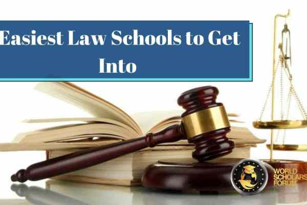 Easiest Law Schools to Get Into