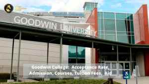 Goodwin College: programs, admission rate, and tuition
