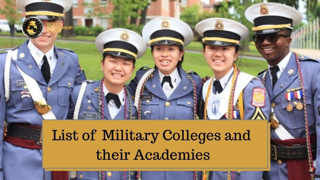List of Military Colleges and their Academies in 2021