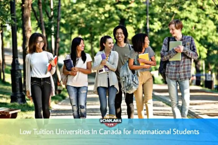 Low Tuition Universities In Canada for International Students