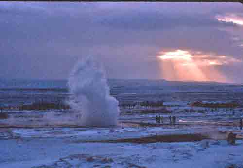 Steam, Snow and Sunshine in Iceland