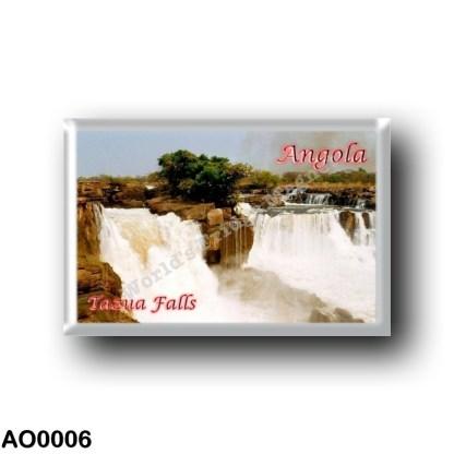 AO0006 Africa - Angola - Tazua Falls