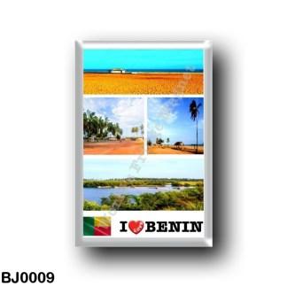BJ0009 Africa - Benin - I Love